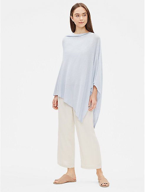 Organic Linen Cotton Poncho