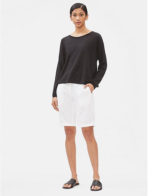Organic Linen Walking Shorts