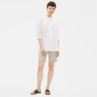 Organic Linen Walking Shorts