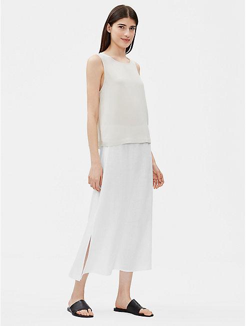 Organic Linen A-Line Skirt