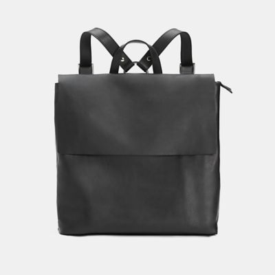Italian Leather Small Backpack