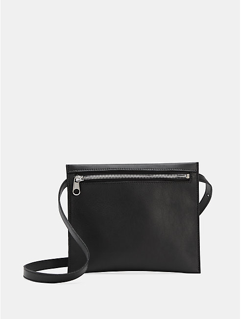 Italian Leather 3-in-1 Convertible Crossbody