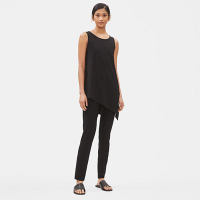 Lightweight Viscose Jersey Sleeveless Tunic