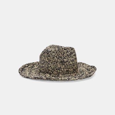 Mar Y Sol Crocheted Raffia Hat