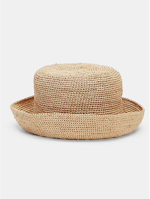 Mar Y Sol Crocheted Raffia Sun Hat