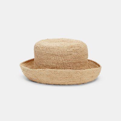 Mar Y Sol Crocheted Raffia Sun Hat