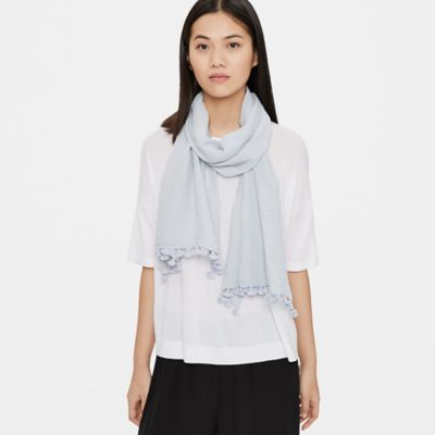 Handloomed Organic Cotton Scarf