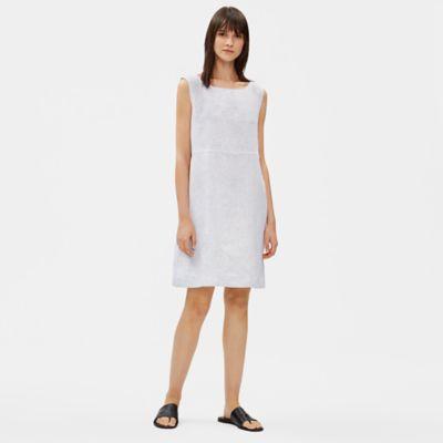Organic Handkerchief Linen Striped Dress