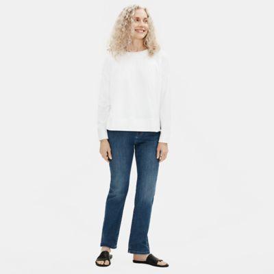 Organic Cotton Stretch Straight Jean