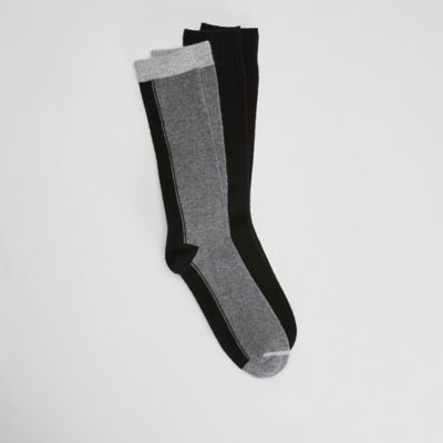 Cozy Recycled Nylon Cashmere Men's 2-Pack