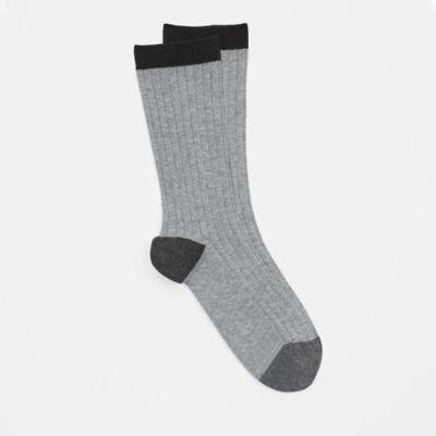 Organic Cotton Toe-Blocked Sock