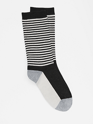 Organic Cotton Striped Sock