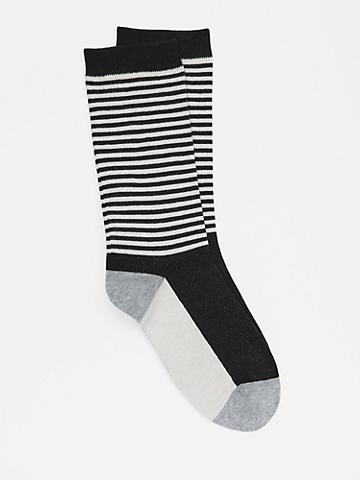 Organic Cotton Striped Sock