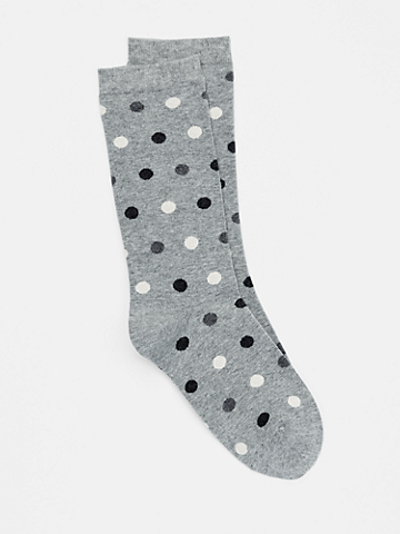 Organic Cotton Dot Sock