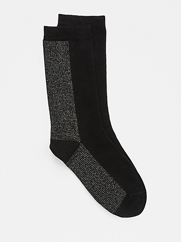 Organic Cotton Shimmer Sock