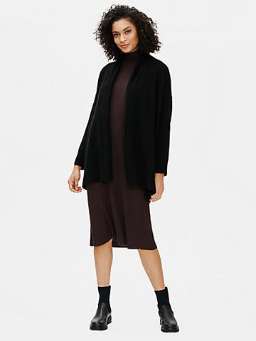 Italian Cashmere Boxy Long Cardigan
