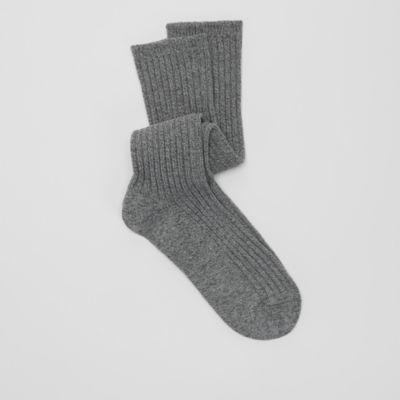 Organic Cotton Marled Slouchy Sock