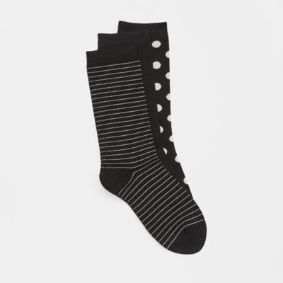 Organic Cotton Printed Sock 3-Pack