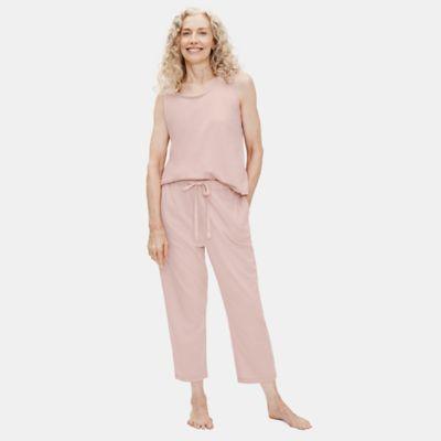 Cozy Organic Cotton Interlock Slouchy Pant
