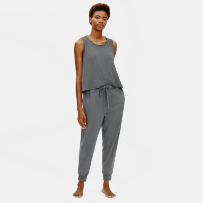 Cozy Organic Cotton Interlock Jogger Pant