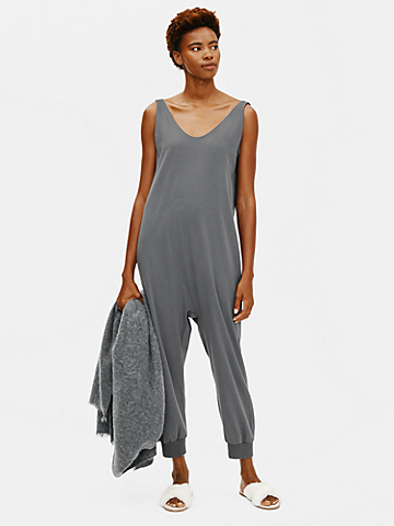 Cozy Organic Cotton Interlock Jumpsuit