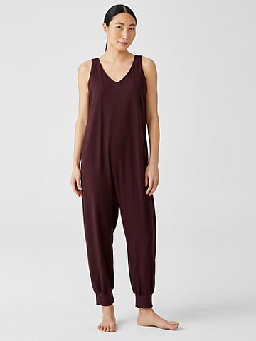 Cozy Organic Cotton Interlock Jumpsuit
