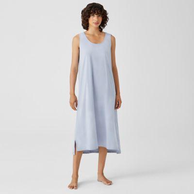 Cozy Organic Cotton Interlock Tank Dress