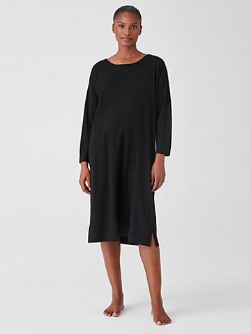 Cozy Organic Cotton Interlock Dress