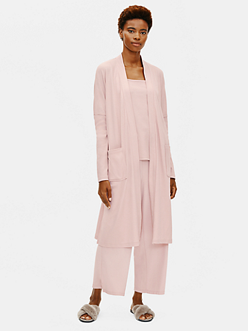 Cozy Organic Cotton Interlock Robe