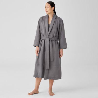 Organic Cotton Cozy Interlock Quilted Robe