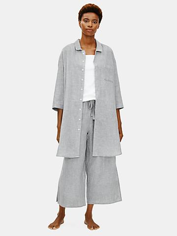 Organic Cotton Doubleweave Shirtdress