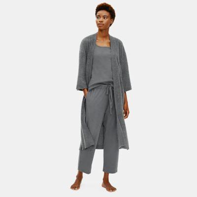 Brushed Cashmere Robe