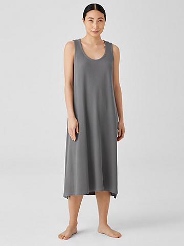 Cozy Organic Cotton Thermal Tank Dress