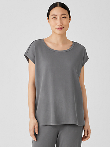 Cozy Organic Cotton Thermal Square Top