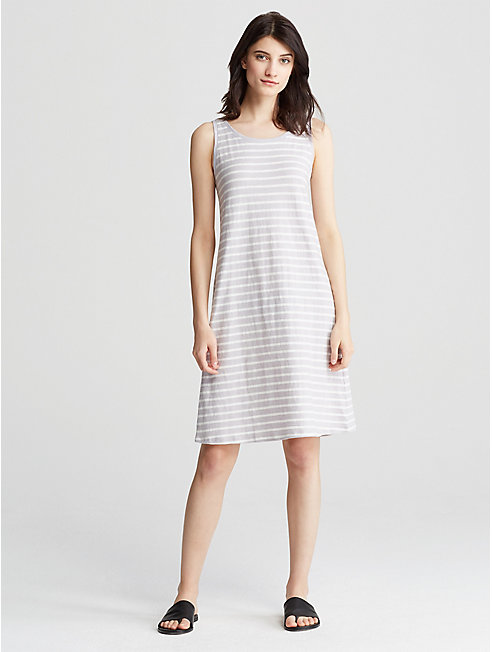 Organic Cotton Jersey Stripe Dress