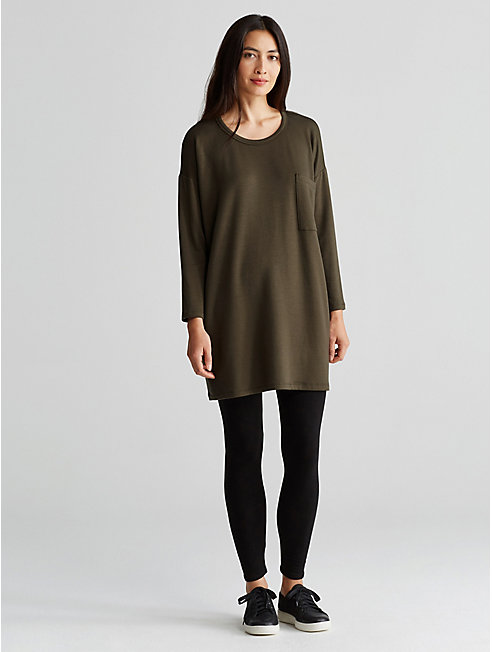 Tencel Fleece Pocket Tunic