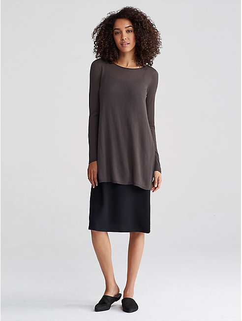 Seamless Tencel Knit Tunic