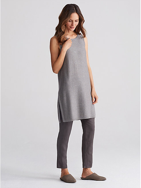 Tencel Merino Knit Sleeveless Tunic