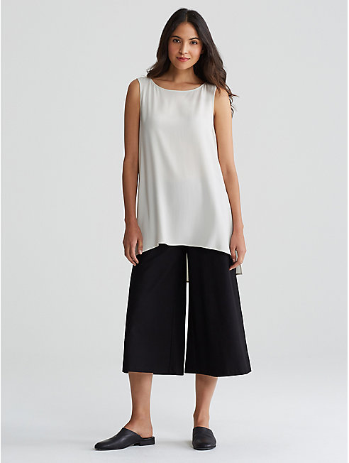 Washable Stretch Crepe Culotte
