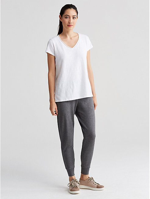 Tencel Terry Slouchy Pant
