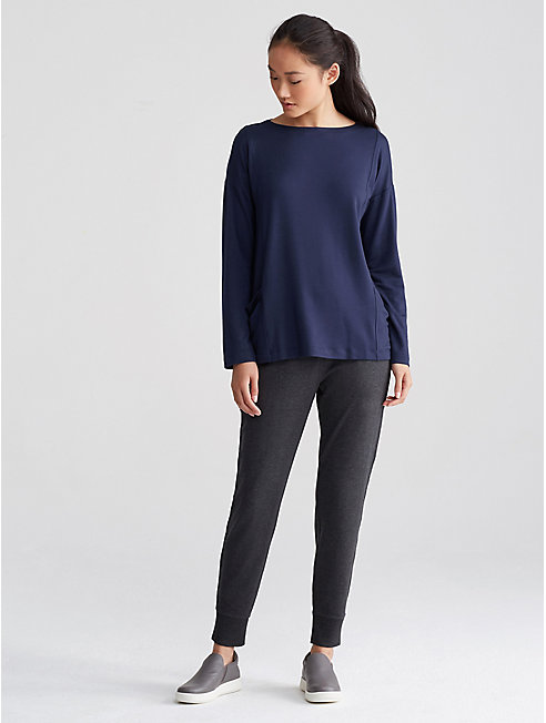 Tencel Terry Pocket Box-Top