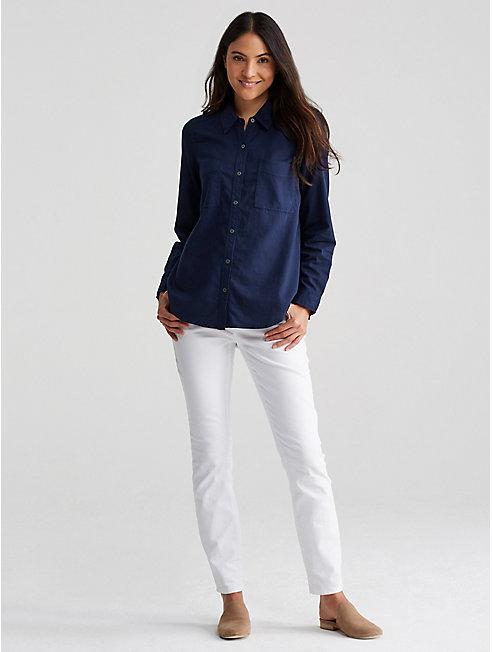 Soft Organic Cotton Twill Shirt
