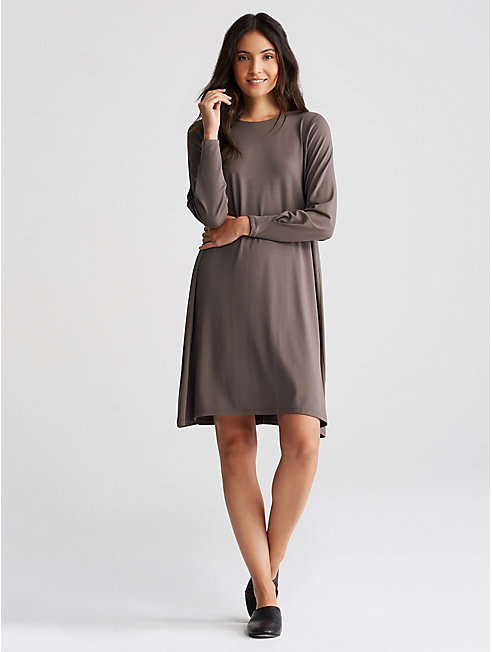 Viscose Jersey A-Line Dress