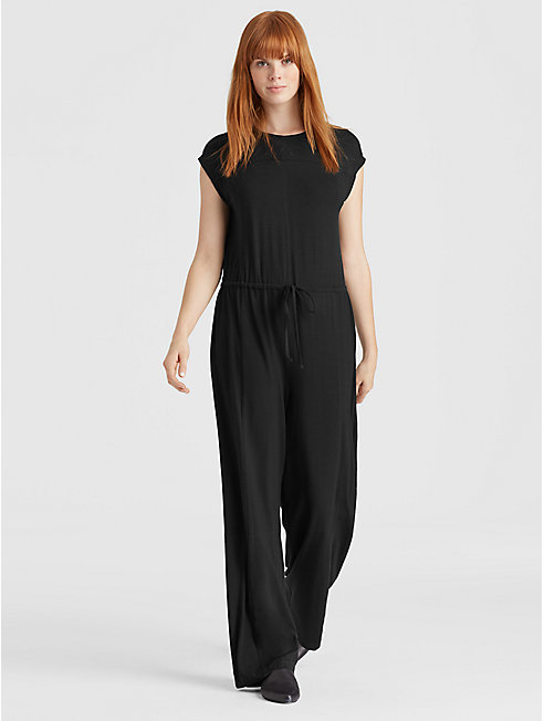Resewn Viscose Jersey Jumpsuit