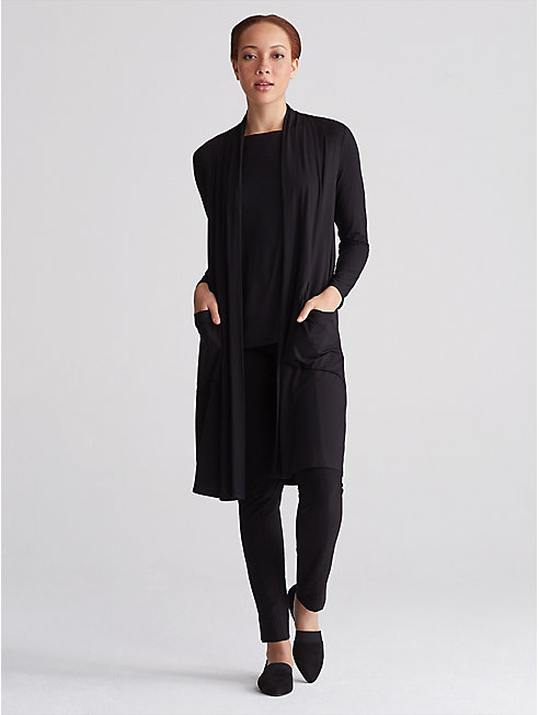 Viscose Jersey Kimono Cardigan