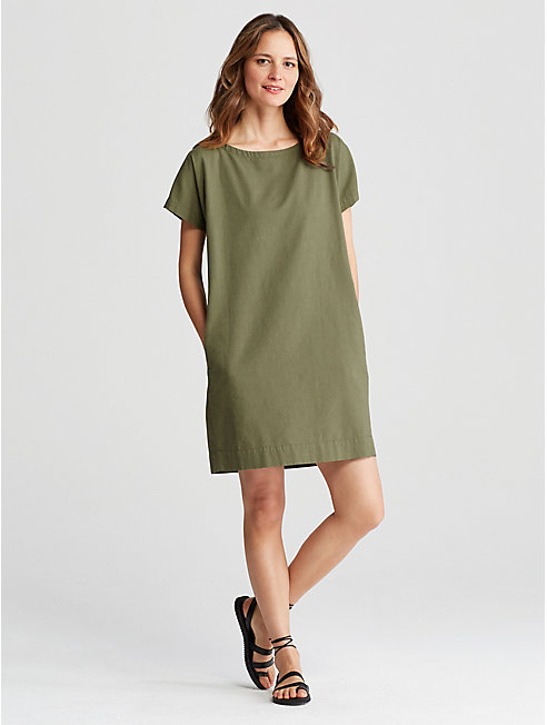 Organic Cotton Shift Dress