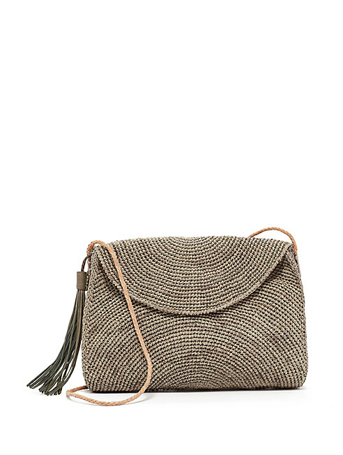 Mar Y Sol Raffia Shoulder Bag