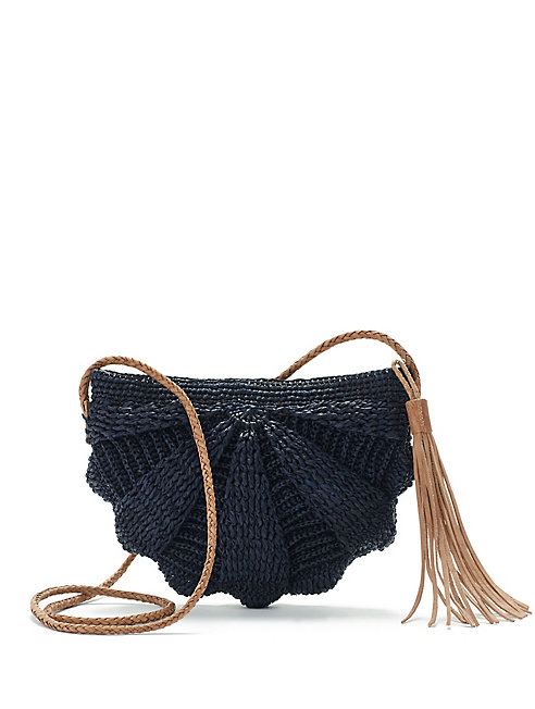 Mar Y Sol Raffia Crossbody Bag