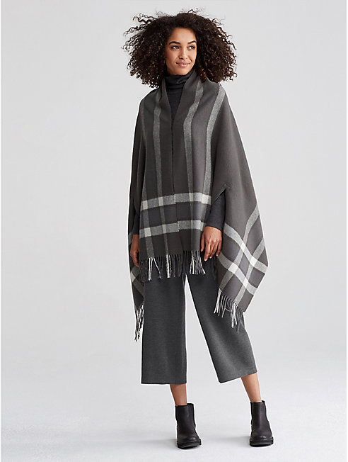 Wool Plaid Serape