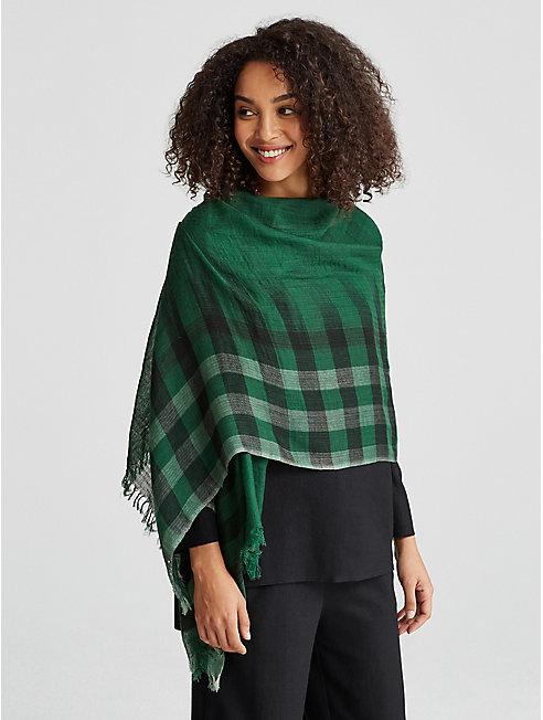 Handloomed Wool Ikat Scarf